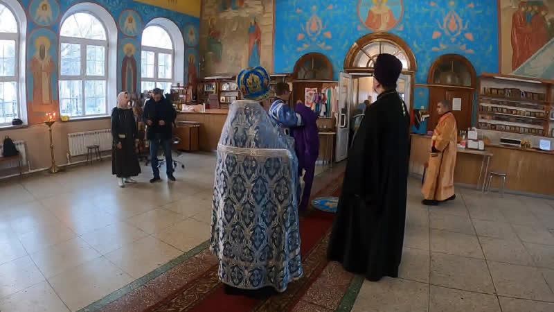 Прямая трансляция Вечернее богослужение 05 12 2020 Епископ Алексий