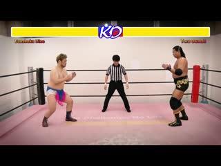ЛУЧШИЙ МАТЧ В ИСТОРИИ РЕСТЛИНГА - Danshoku Dino vs. Toru Owashi (DDT)
