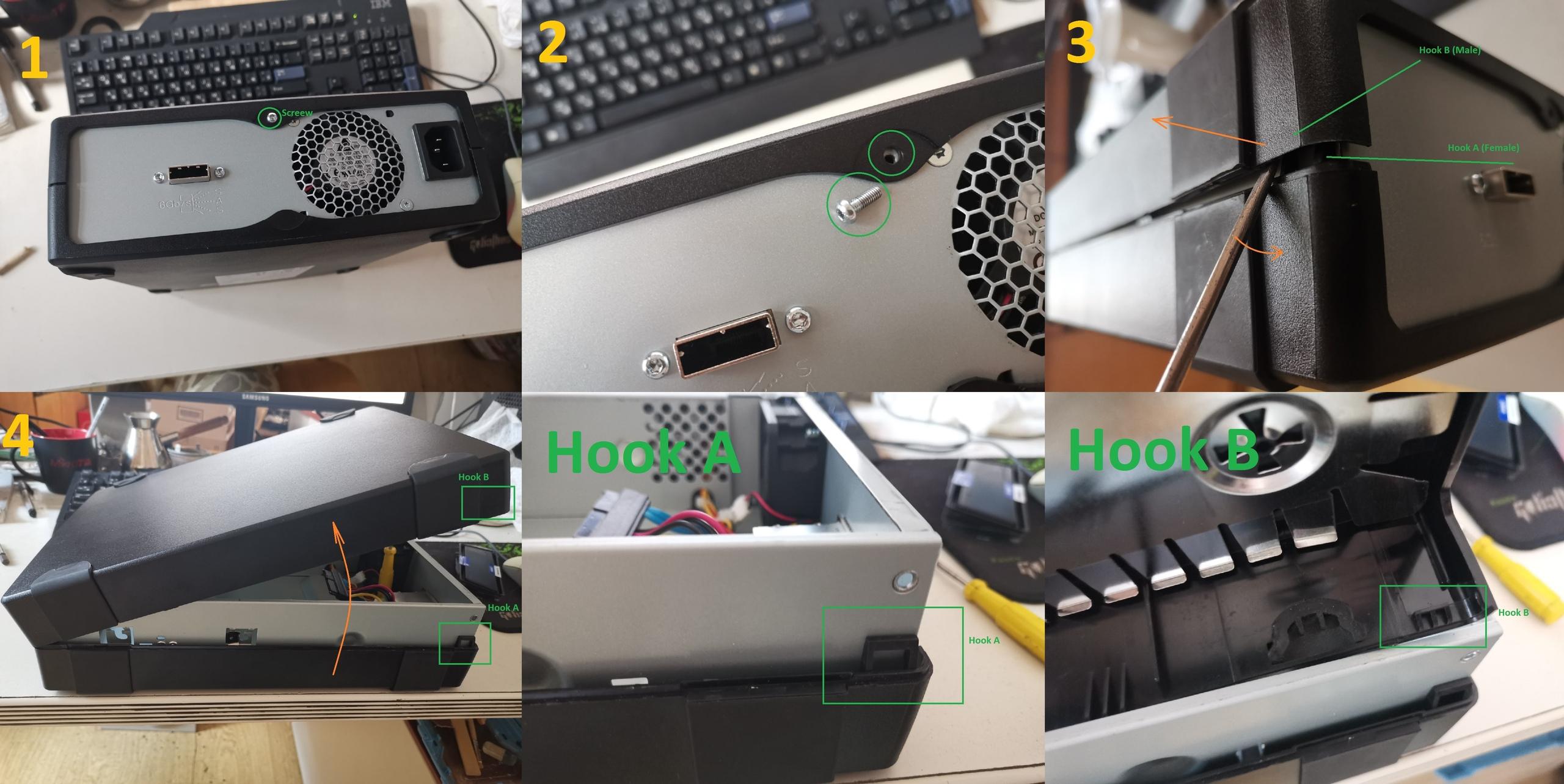 HpeUltrium 30750 removing plastic case