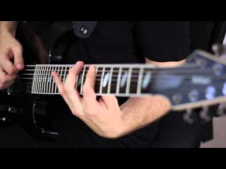 "Caparison Dellinger 7 FX-WM - Paul Ozz ""Unbinding of Ahnu"""