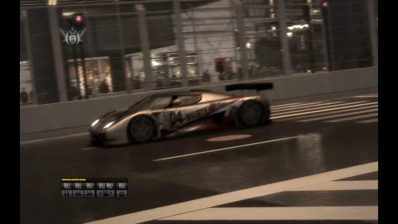 Race Driver Grid. GT1. Koenigsegg. Shibuya. Extrem