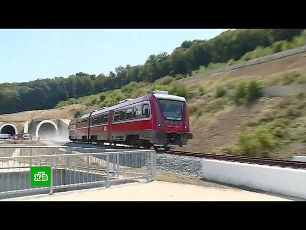 Президент Сербии Вучич оценил работу российских железнодорожников