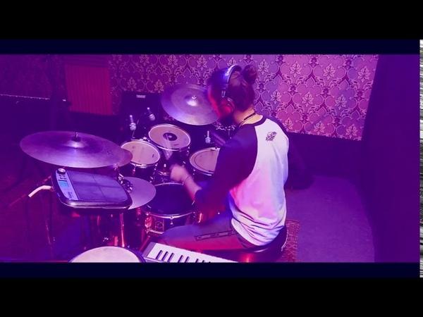 Конкурс Drummers United 2020 Сафронов Александр Алексеевич Орёл To right side drum solo