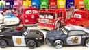 Машинки из Мультика Тачки Молния Маквин Полицейская Машина Пожарная Машина