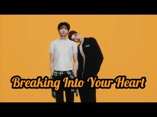 Breaking Into Your Heart ● Yoonmin AU (sims 4)
