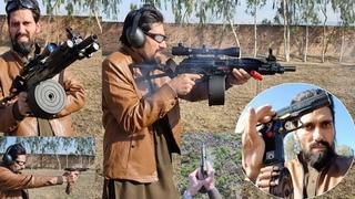 TT 30 bore full auto pistol new design with shotgun Darra Adam khel