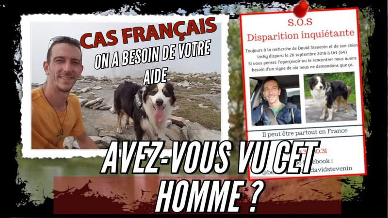 David Stevenin Disparu dans la nuit après une dispute Disparition française