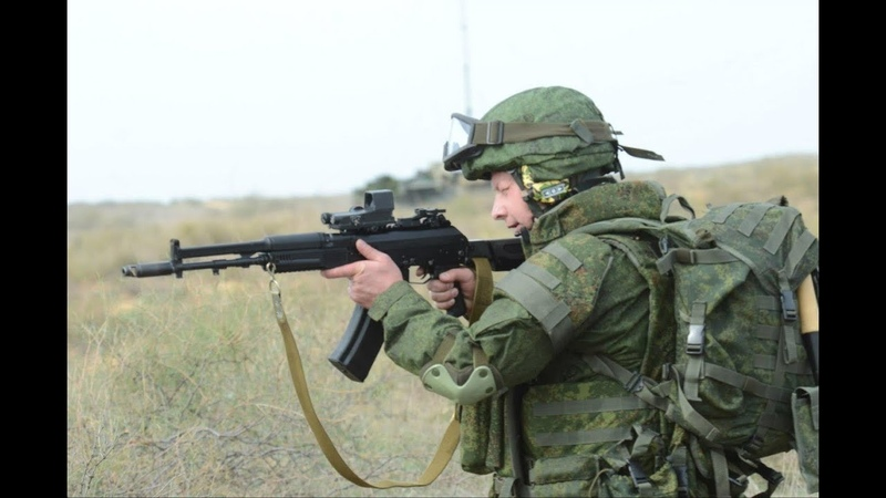 Экипировка военнослужащих ВС РФ к 2012-2015 году.