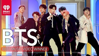 BTS Acceptance Speech - Best Music Video | 2020 iHeartRadio Music Awards