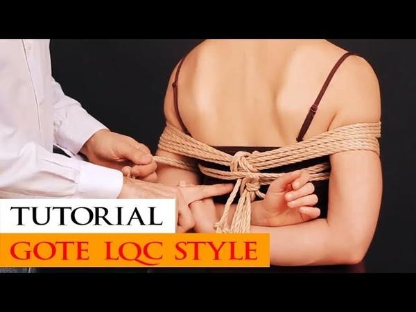 Tutorial gote shibari aka takate kote La quarta corda style (Italiano)