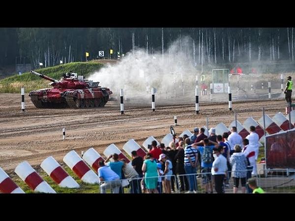 Танковый биатлон День 5 Индивидуальные гонки