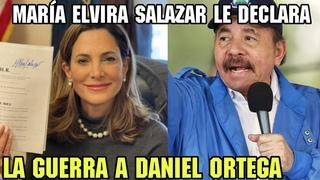 🔴⚠️ULTIMA HORA| María Elvira Salazar le DECLARA la guerra a DANIEL ORTEGA Y ROSARIO MURILLO