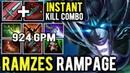 Triple Stifling Dagger Soul Bind Combo Ramzes Rampage Phantom Assassin Juggernaut