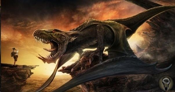 Динозавры дотянули до средневековья То, что динозавры жили на память человечества, а не вымерли очень много миллионов лет назад - в этом едва ли приходиться сомневаться, учитывая последние