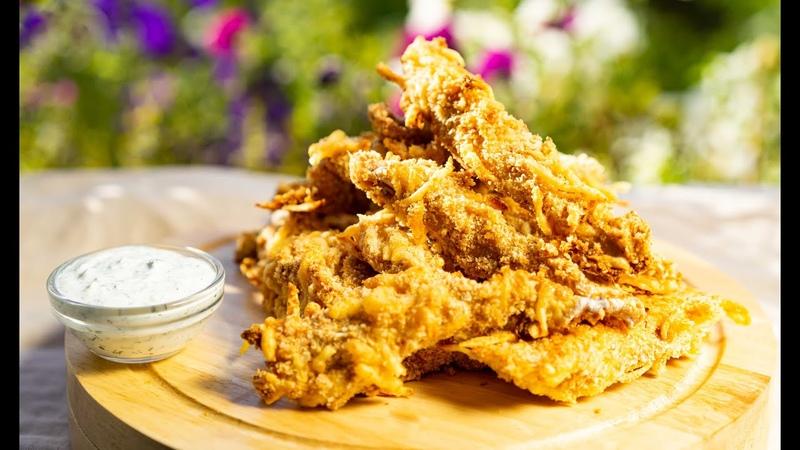 КУРИНЫЕ СТРИПСЫ ВКУСНЕЕ ЧЕМ В KFC СТРИПСЫ В ДУХОВКЕ CHICKEN STRIPS TASTER THAN KFC OVEN STRIPS
