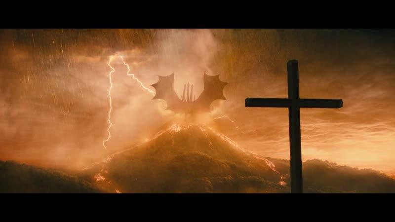 Годзилла Король монстров 2019 Гидора возвещает апокалипсис