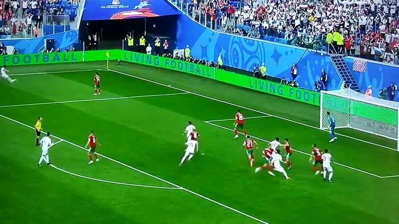 Марокко Иран 0 1 Автогол Азиза Бухаддуза приносит победу иранцам