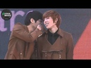 121117 [FANCAM] MyungSoo DongWoo © A Walk with the Stars