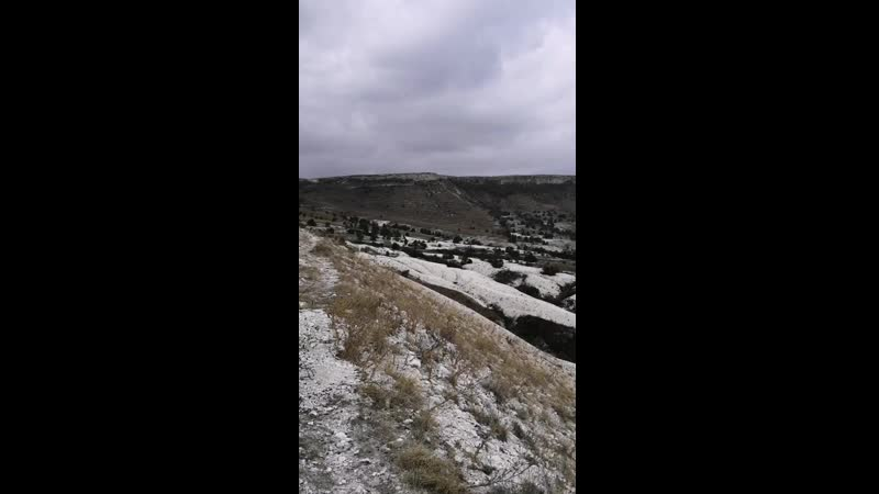 Крым Белая скала гора Ак Кая Белогорск