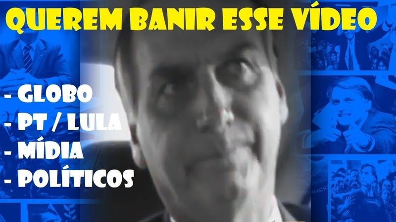 POLÍTICOS querem BANIR esse vídeo do BOLSONARO da Internet