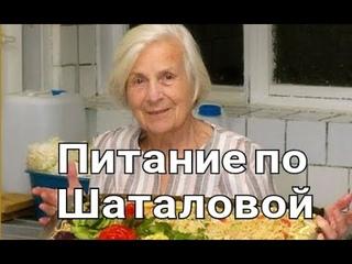 Шаталова Галина Сергеевна о правильном питании зож, правильное питание, здоровый образ жизни