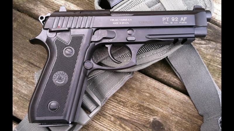Gletcher Tar 92 4 5мм BRT 92 FS Полная разборка уход за пистолетом