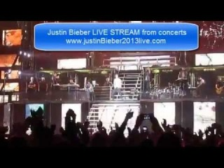 Justin Bieber in Russia 2013 - St Petersburg and Moscow LIVE STREAM