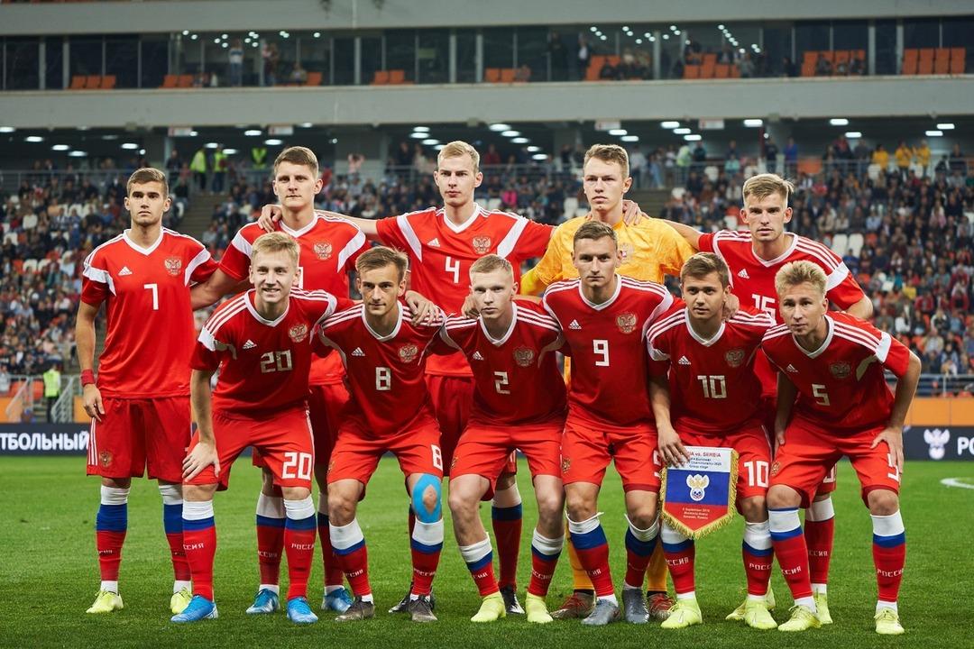 Молодежная сборная России по футболу 2020