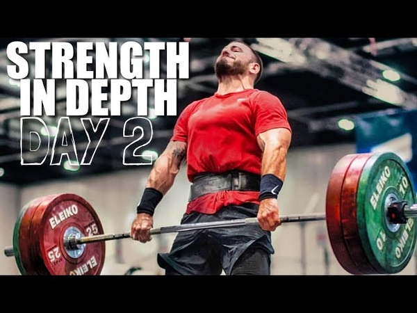 Strength In Depth Day 2 Rowing, Chipper and Heavy Clean Workout