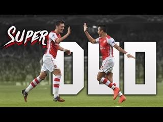 Alexis Sanchez & Mesut Ozil ► Super Duo ● Magician and the Beast   2016/17 ᴴᴰ