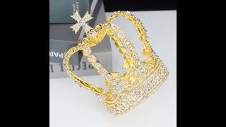 Хрустальная королевская диадема и короны для мужчин/женщин, головной убор торжеств, на выпускной