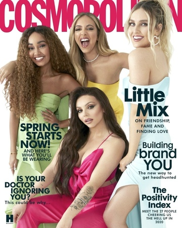 Cosmopolitan UK on Instagram Steady Are You Ready 🎤 Introducing our INCREDIBLE May cover stars @littlemix ⭐️ The issue will be available