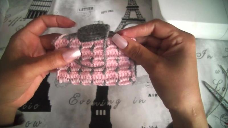 Cierre para botones en ganchillo Ojales botones a crochet