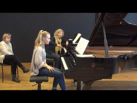 24 11 2018 M Marchenko's master classes Margot Salumets EAMT Tallinn Estonia