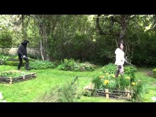 Prieuré de Laverré - Le voleur du jardin