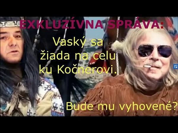 06 08 2020 Exkluzívna správa Vaský sa žiada na celu ku Kočnerovi Bude mu vyhovené