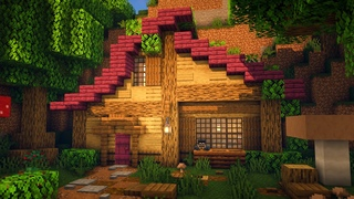 Fantasy Hillside Cottage Speed-build!