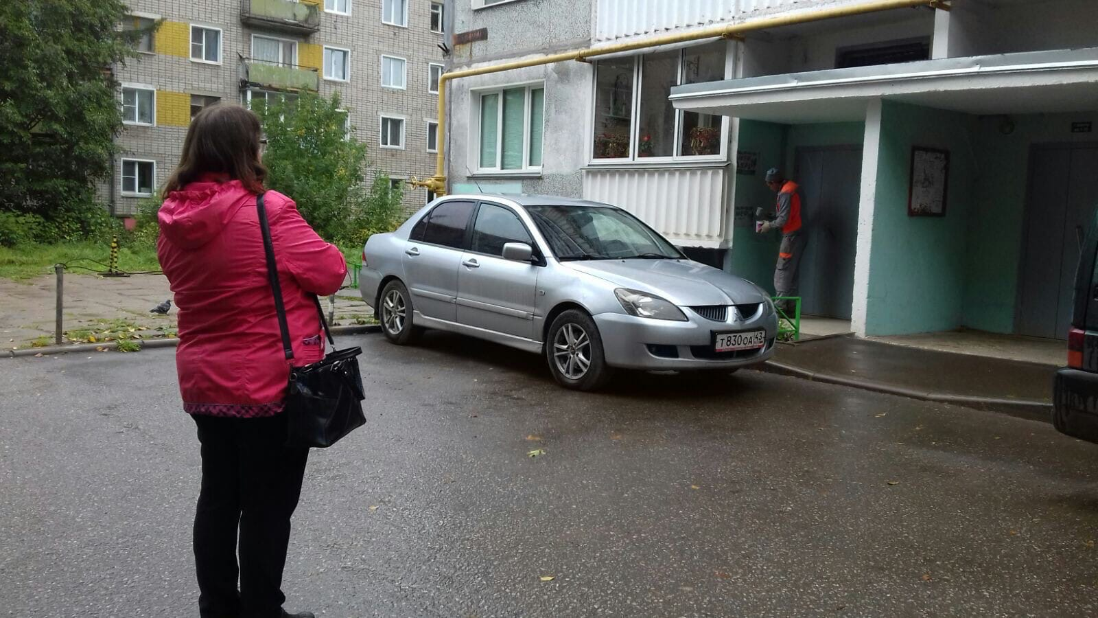 Улица Московская дом 173 закрашивание надписей на