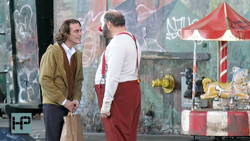 First Video - Joaquin Phoenix as The Joker - Filming in the Streets of NY