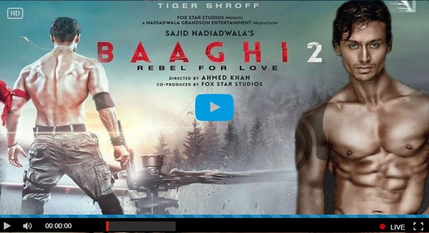 Baaghi 2 full movie 720p free download