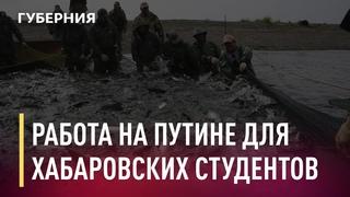Хабаровских студентов приглашают на работу на время путины. Новости. 14/04/2021. GuberniaTV
