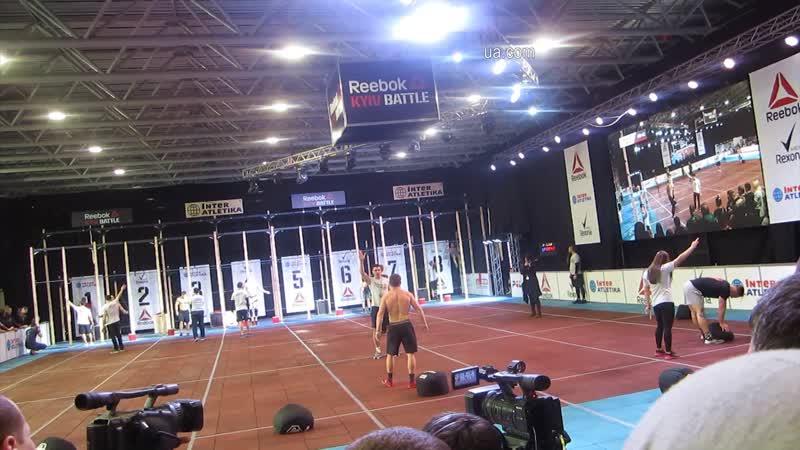 Международный турнир Кроссфита Kyiv Battle 2019 Виставковий центр АККО Інтернешнл