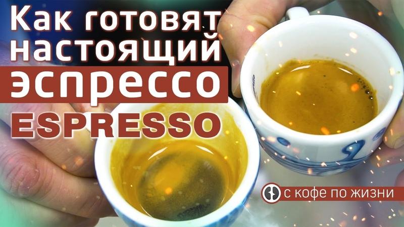 Правильное приготовление эспрессо на профессиональной кофемашине Рецепт кофе эспрессо от бариста