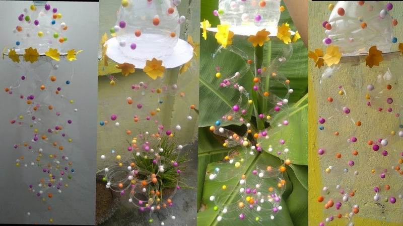 Waste Plastic Bottle dancing ball Wind chime