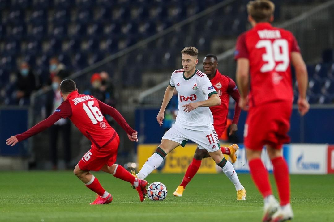 РБ Зальцбург - Локомотив, 2:2. Лига чемпионов