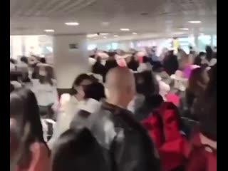 Задержки рейсов в аэропортах Москвы из-за ледяного дождя
