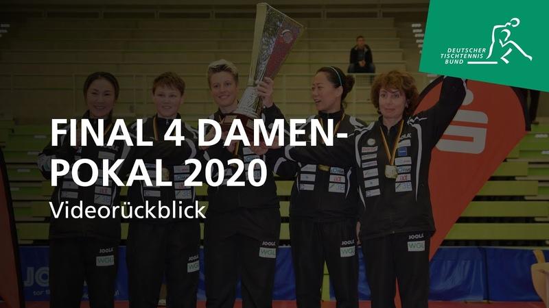 Final 4 Damen Pokalmeisterschaften 2020 Videorückblick