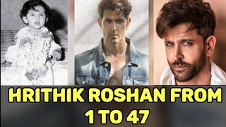 Hrithik Roshan transformation from age 1 to 47 | Hrithik Roshan transformation from 1974 to 2021