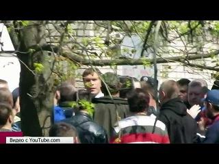 Кандидат в президенты Украины Олег Царев был избит во время предвыборной поездки в Николаев - Первый канал