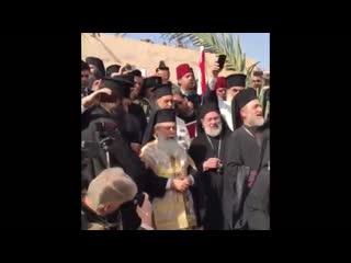 Иордан. Голубь прилетел на праздник Крещения Господня